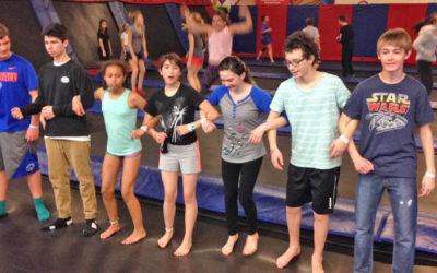 Teens Jump for Joy!