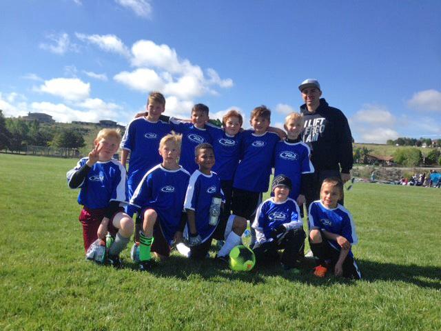Last Game for the Boys U10 Rush team