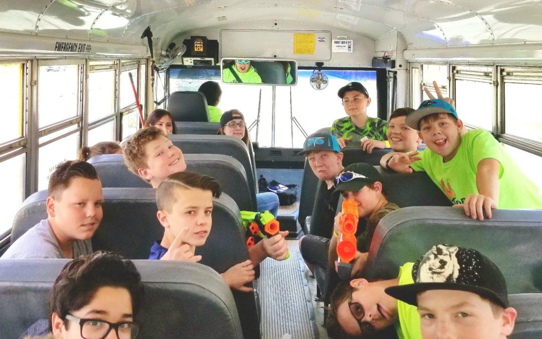 First Teen Field Trip of Summer: NERFED!