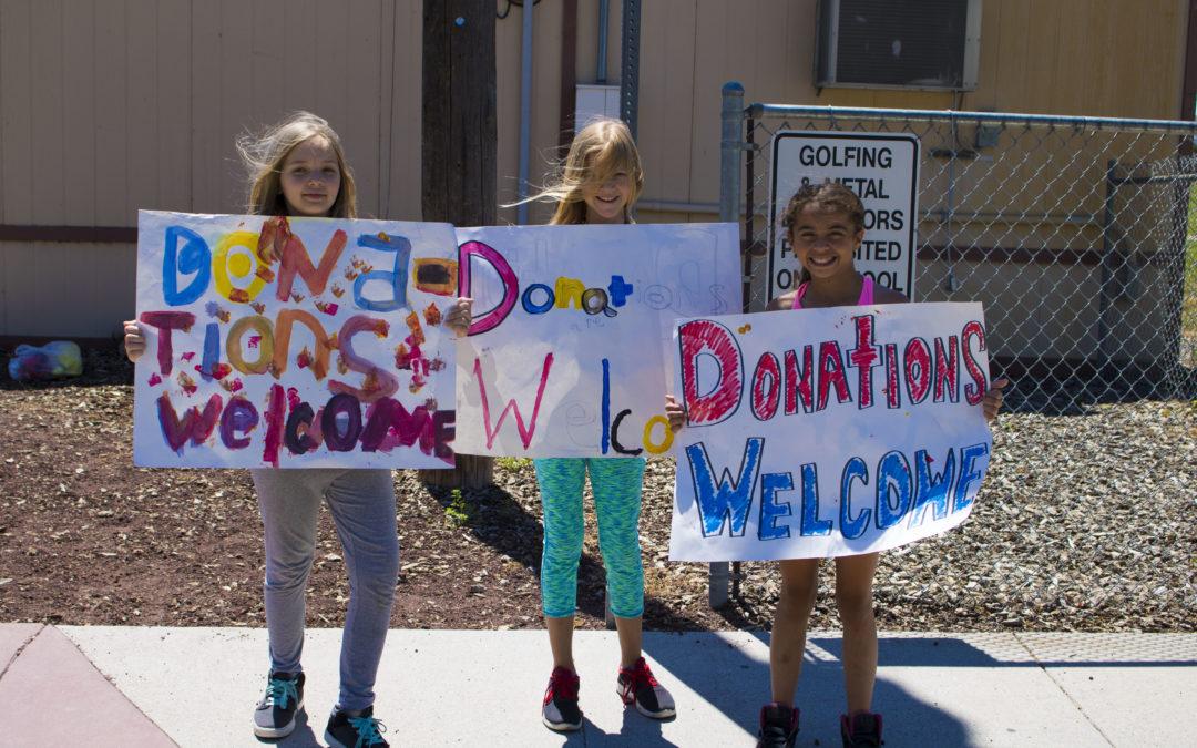Club Kids Raise Funds For Vandalized Community Garden
