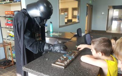 Darth Vader Invades the Club